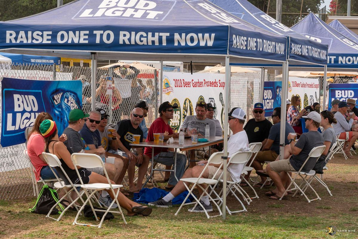 Beer Garden Manhattan Beach Hometown Fair