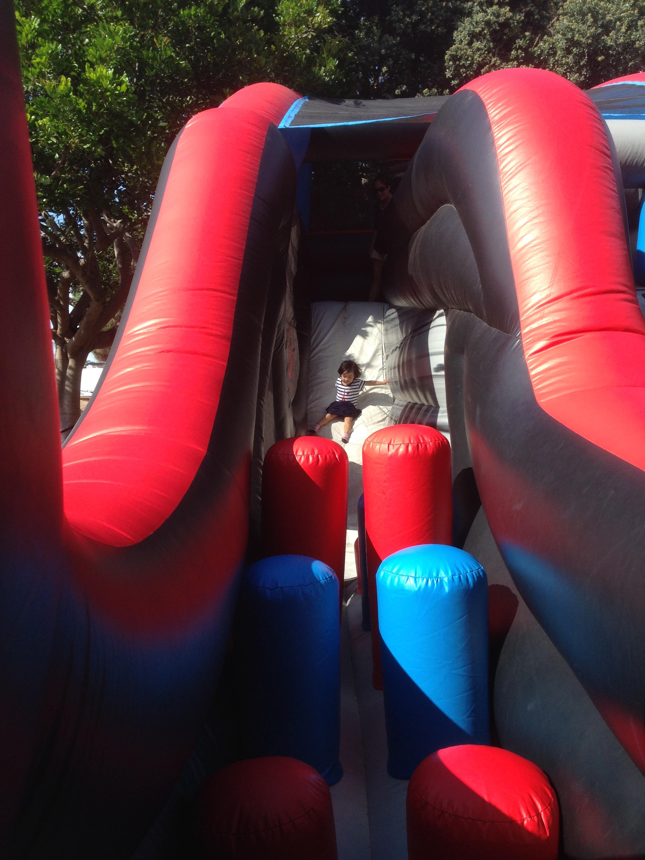 Giant Bounce Slide